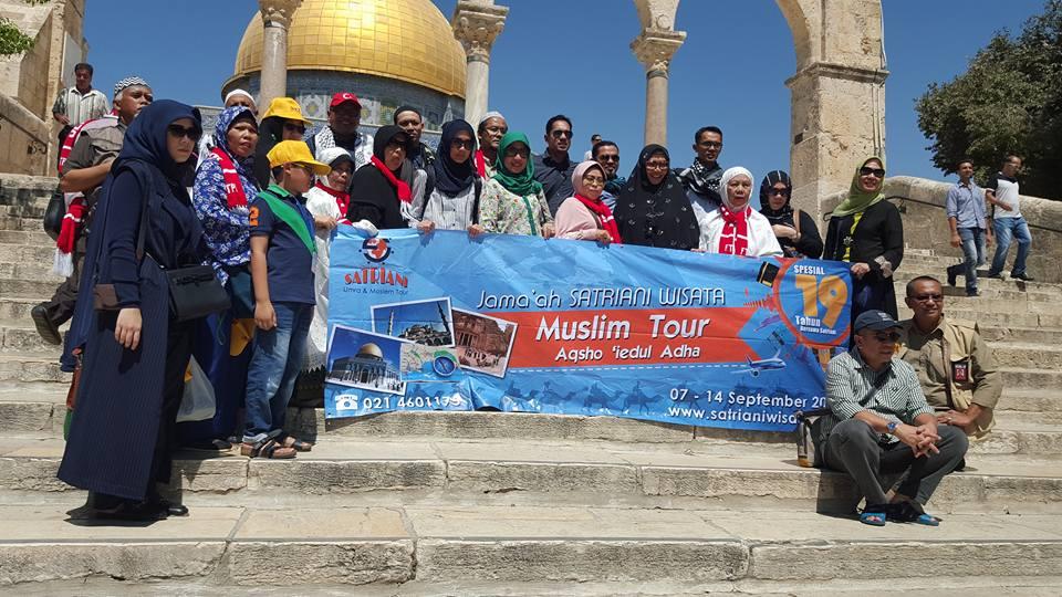 Muslim Tour aqsa Idul Adha