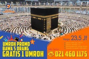 Promo Umroh 5 Free 1